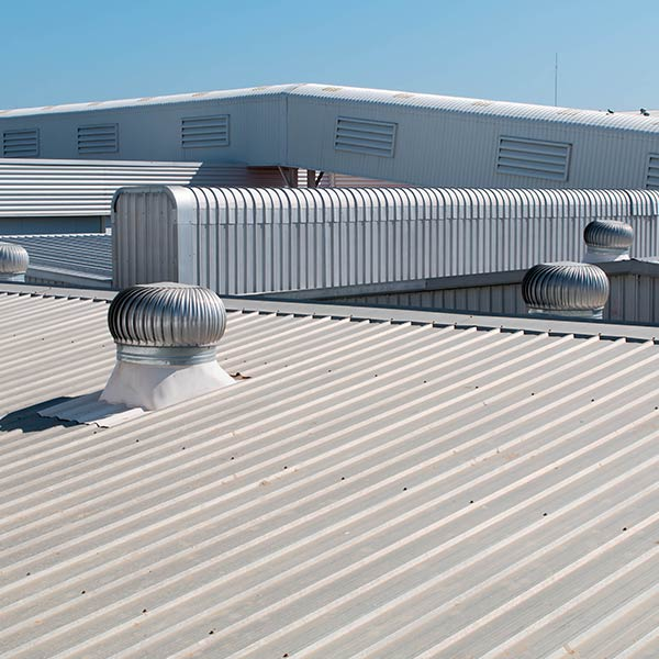 Commercial Metal Roof in Edmonton