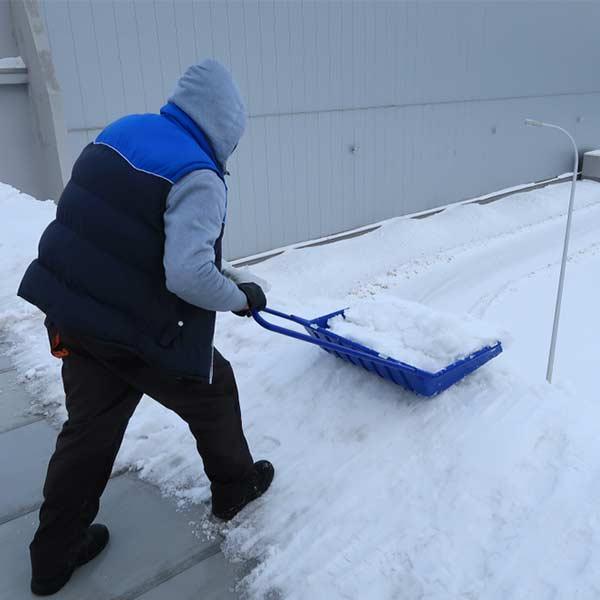 Flat Roof Snow Removal Edmonton
